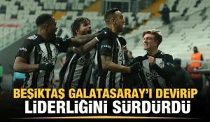 Beşiktaş'a derbilerde yan bakılmıyor!
