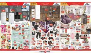 BİM 20 Ocak aktüel kataloğu! Mobilya, züccaciye, elektrikli ev aletleri ve kışlık tekstilde…