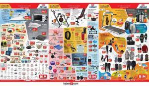 BİM 27 Ocak aktüel kataloğu! Elektronik, züccaciye, spor aletleri ve elektrikli ürünlerde…