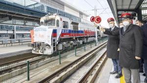 Birinci bor treni Çin'e gerçek yola çıktı