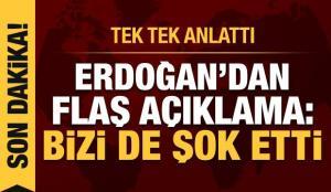 Erdoğan'dan ABD'deki işgal girişimine dair ilk açıklama! Biden mesajı
