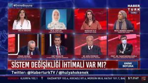 HaberTürk'ü FETÖ'cü Olmakla Suçlayan Hilal Kaplan Canlı Yayından Kovuldu