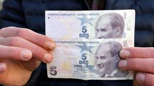 Hatalı basılan 5 lirayı 50 bin liraya satışa çıkardı