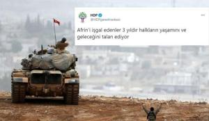 HDP'nin acısı hala aynı! Hendeklere gömülen teröristleri andılar