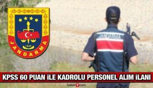 Jandarma Genel Komutanlığı (JGK) en az lise mezunu personel alım ilanı! İşte son başvuru tarihi