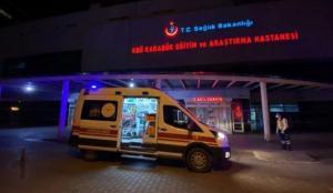Karabük'te karbonmonoksit gazından zehirlenen 7 kişi hastaneye kaldırıldı