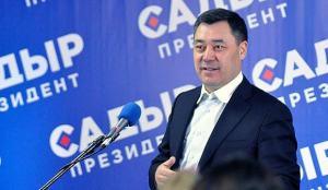 Kırgızistan'ın yeni Cumhurbaşkanı Caparov'dan Türkiye mesajı