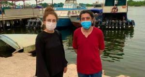 Korsan saldırısına uğrayan gemide yaralanan Bahadır Yeşilalan tedavisinin ardından gemiye döndü