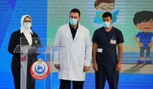 Mısır'da aşı uygulaması başladı