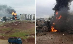 MSB: Afrin'deki Bombalı Terör Saldırısında 5 Sivil Hayatını Kaybetti