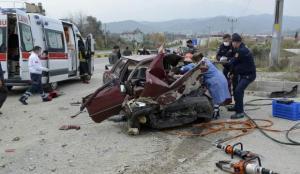 Muğla'da korkunç kaza! 2 ölü 3 kişi yaralı