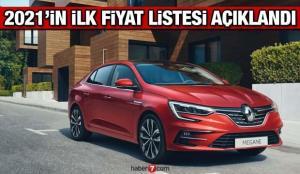 Renault 2021 yılının ilk güncel fiyat listesini açıkladı! Yeni Symbol Clio Megane fiyatları