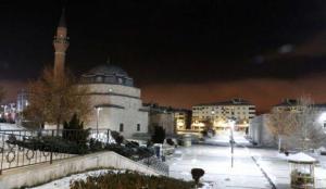Sivas'ta sıcaklık sıfırın altında 17'ye düştü