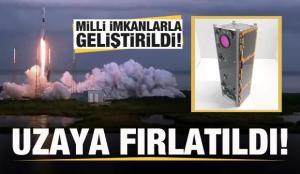 Son dakika: Türkiye'den bir büyük başarı daha! ASELSAT 3U Küp Uydusu uzaya fırlatıldı