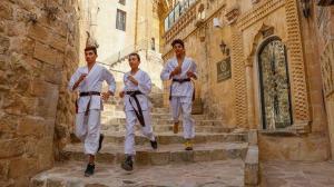 Tarihi kentin dar sokaklarında milli takıma hazırlanıyorlar