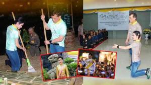 Tayland Hükümdarı'nın manzaraları olay oldu, tezler peş peşe geldi