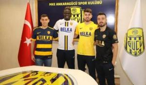 Transfer yasağı kalkan Ankaragücü'de peş peşe imzalar