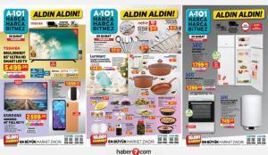 25 Şubat A101 aktüel kataloğu! Elektronik, züccaciye, fırın, buz dolabı, elektrikli ürünlerde..