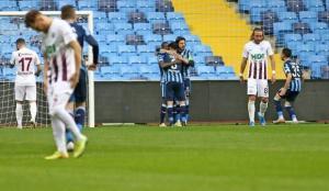 Adana Demirspor Samet Aybaba ile ilk kez kazandı