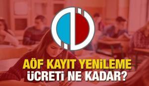AÖF bahar dönemi kayıt yenileme tarihleri! Anadolu Üniversitesi kayıt yenileme ücretleri…