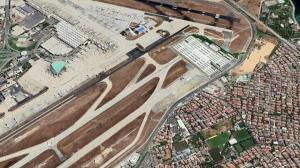 Atatürk Havalimanı'ydı pandemi hastanesi oldu: Uydu görüntülerine yansıdı