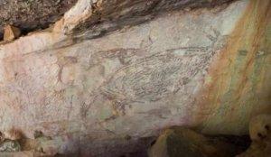 Avustralya'da 17 bin 300 yıllık kaya resmi bulundu