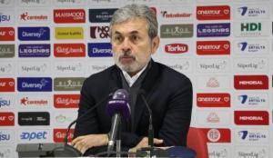 Aykut Kocaman: Tek tesellimiz, gol yemedik