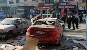 Başkent'te mobilya atölyesinde korkutan patlama