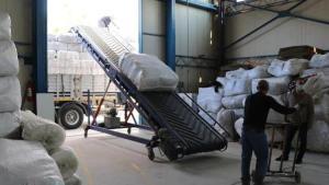 Battaniyenin üretim merkezi Uşak'ta taleplere yetişilemiyor