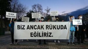 Bursalı gençlerterör örgütü provakasyonuna dönen Boğaziçi eylemlerini kınadı