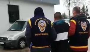 Çaldığı lüks otomobili geri bırakan hırsız tutuklandı