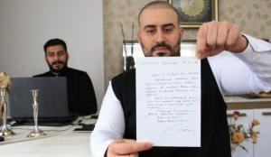 Cumhurbaşkanı Erdoğan'ın gönderdiği mektup 22 yıl sonra ortaya çıktı