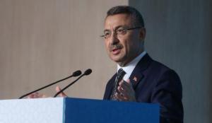 Cumhurbaşkanı Yardımcısı Oktay, Suriye'de şehit olan asker için başsağlığı diledi