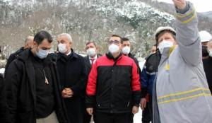 Enerji Bakanı Dönmez, Kastamonu'da sahaya indi