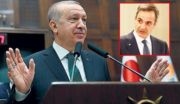 Erdoğan'ın 'Çılgın Türkleri tanıyacaksın' çıkışına Miçotakis'ten cevap