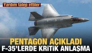 F-35'lerle ilgili yeni gelişme! Anlaşma resmen imzalandı