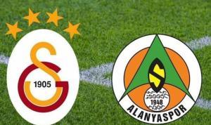 Galatasaray Alanyaspor kupa için