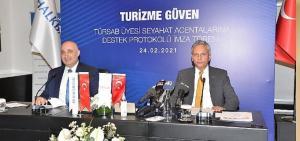 Halkbank'tan 'TÜRSAB Üyesi Seyahat Acentalarına Destek Paketi'