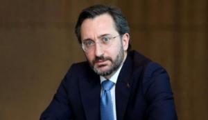 İletişim Başkanı Altun'dan dikkat çeken paylaşım: Can verir, yurt vermeyiz