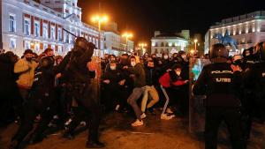 İspanya sokakları toz duman! Şovlar ülke geneline yayıldı