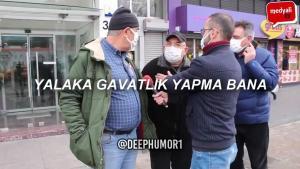 Kanal İstanbul Sorusunun Sorulduğu Sokak Röportajında Ortalık Gerildi, Kavga Çıktı: Ayağım Kaymasaydı Görürdü
