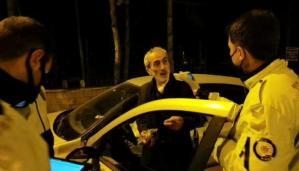 Kısıtlamada Ehliyetsiz ve Alkollü Yakalanan Sürücü: 'Alkol Var, Her Şey Var, Sıkıntı Yok'