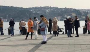 'Kısıtlanamayanlar' soluğu Ortaköy Sahili'nde aldı