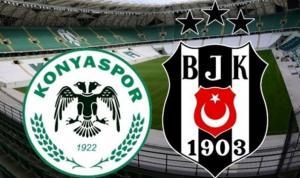 Konyaspor-Beşiktaş karşı karşıya