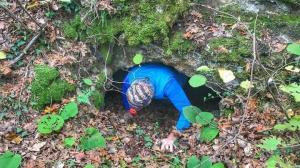Koyun otlatan çobandan gizemli mağara keşfi: İçeriden'hu hu' diye sesler geliyor