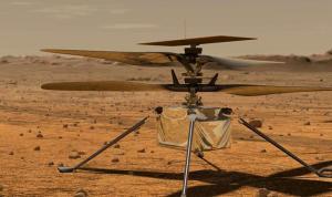 Mars'taki ilk helikopterin ilk mesajı Dünya'ya ulaştı