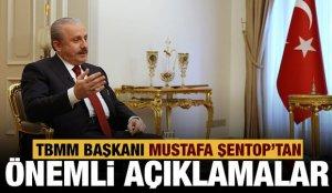Meclis Başkanı Şentop, Ülke TV'de soruları yanıtlıyor