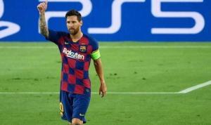 Messi rekor için sahada