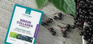 Naturagen Kolajen'den bağışıklık sistemine kara mürverli destek