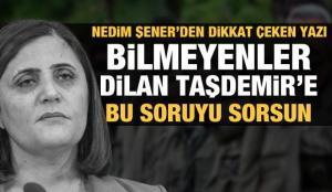Nedim Şener'den dikkat çeken yazı: HDP'ye verdiğin oy askerime sıkılan kurşun gibi!